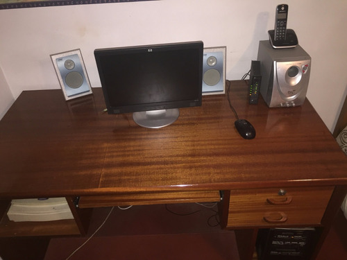 mesa de escritorio madera maciza
