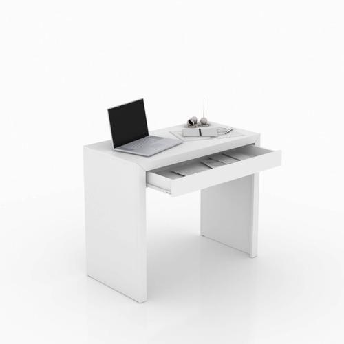 mesa de escritório tecno mobili  me4107  - branco fosco
