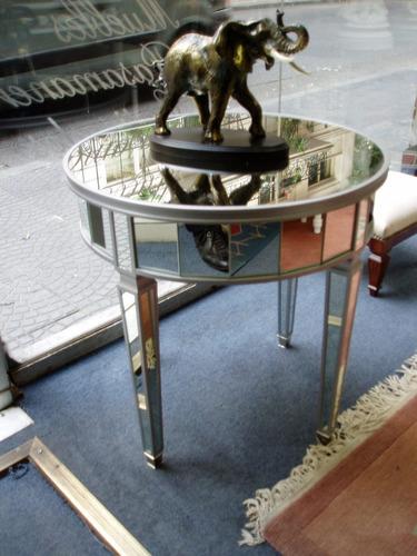 mesa de espejos lateral