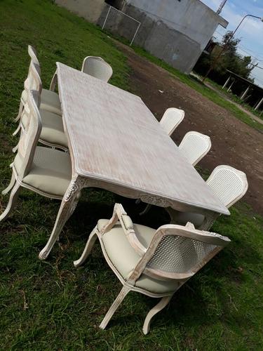 mesa de estilo xv