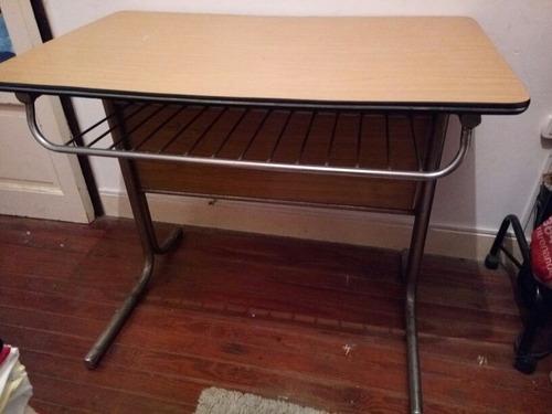 mesa de formica beige