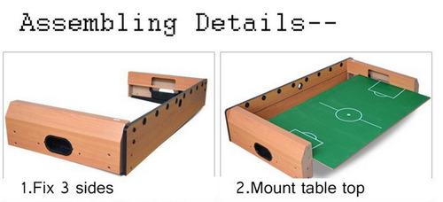 mesa de fulbito de madera portatil gruponatic