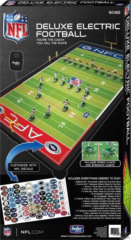 Mesa de futbol americano nfl deluxe electrica juego for Juego de mesa de futbol