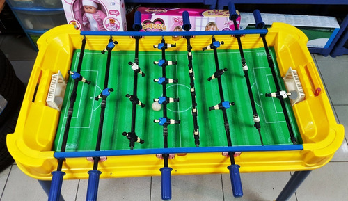 mesa de futbol de salon (usada) operativa (tienda) cod 642