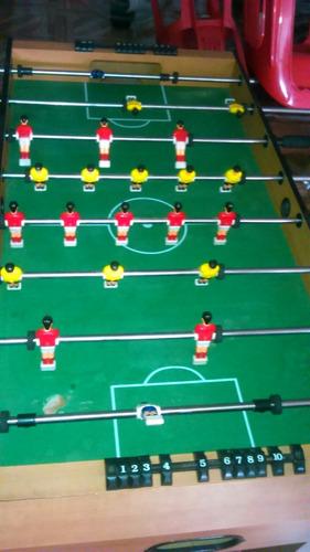 mesa de futbolin o cambio por teclado usado