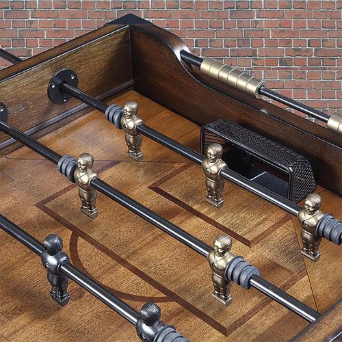 mesa de futbolito madera solida con pelotas negocio hogar