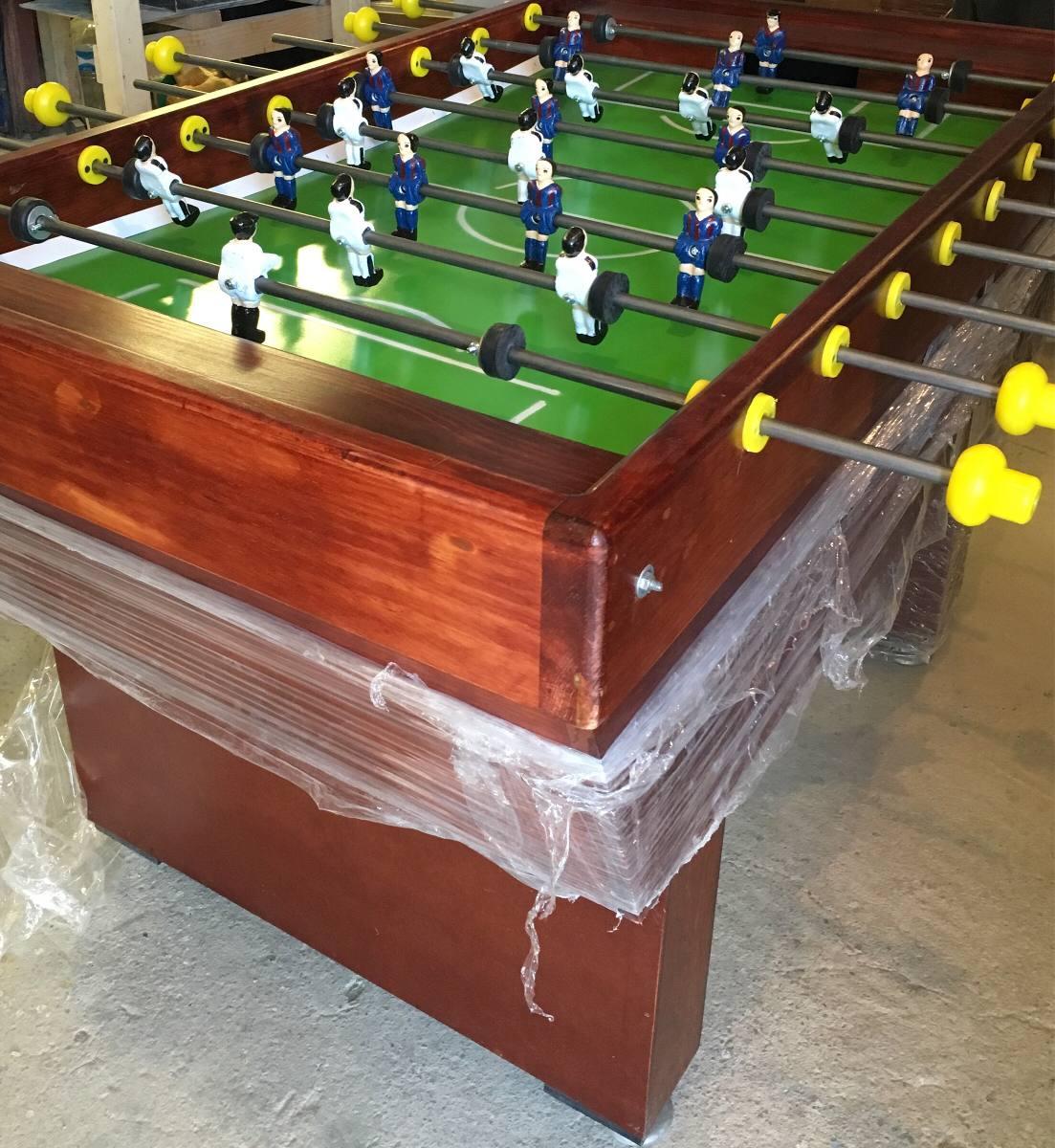 Mesa de futbolito nuevo excelente calidad 8 for Mesa futbolito