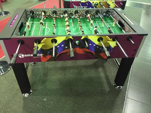 mesa de futbolito profesional tamanaco grande nueva en caja