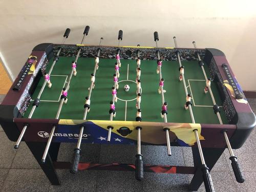 mesa de futbolito tamanaco