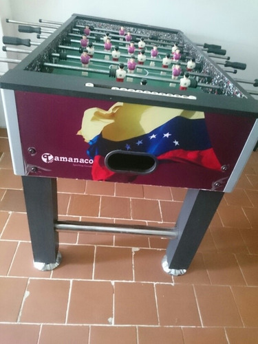 mesa de futbolito tamanaco grande