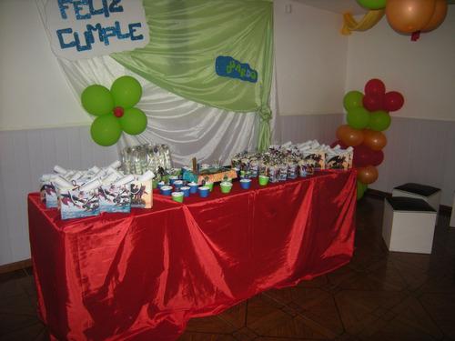 mesa de golosinas - golosinas personalizadas- 20 niños