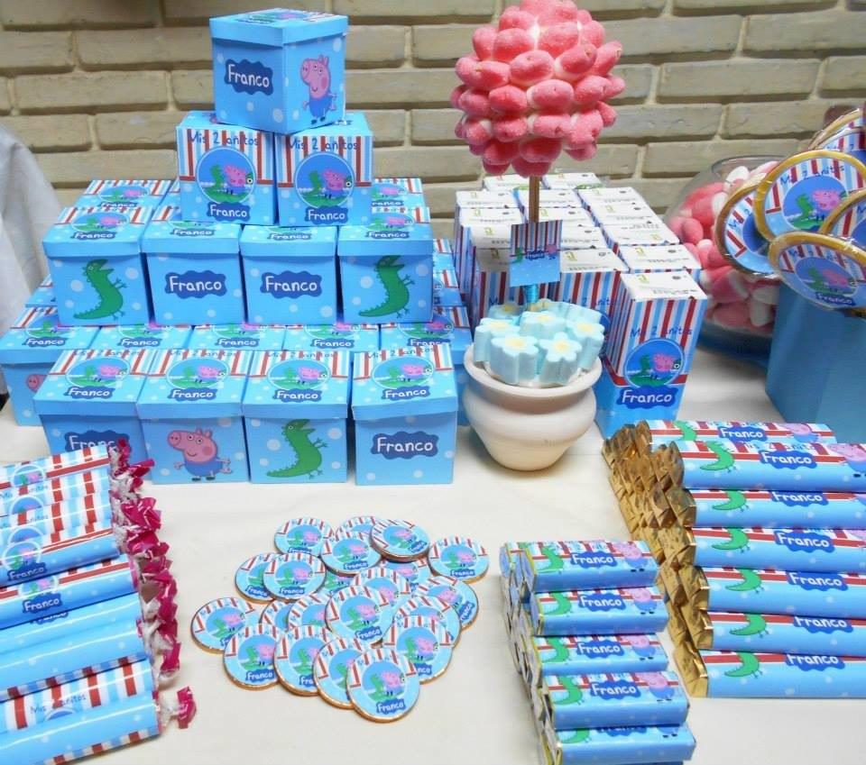 Mesa de golosinas personalizadas para 10 ni os candy bar - Golosinas para cumpleanos de ninos ...