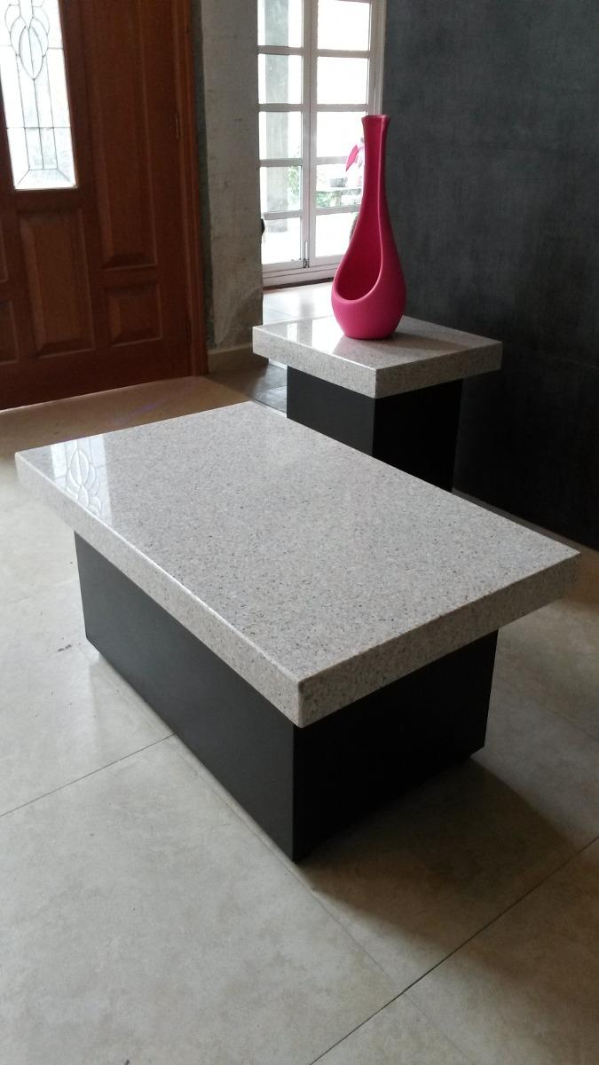 Mesa de granito y mesa lateral granito 4 en for Mesas de marmol y granito