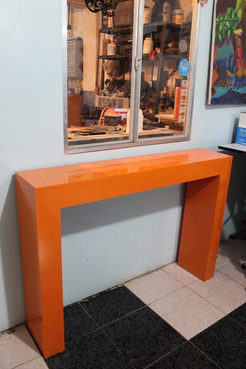 Mesa de grapa credenza mesa de pasillo de dise o nesign for Diseno de mesa plegable