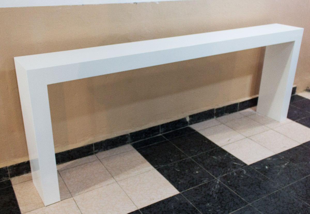 Mesa de grapa credenza mesa de pasillo de dise o nesign - Mesa de centro blanca ...