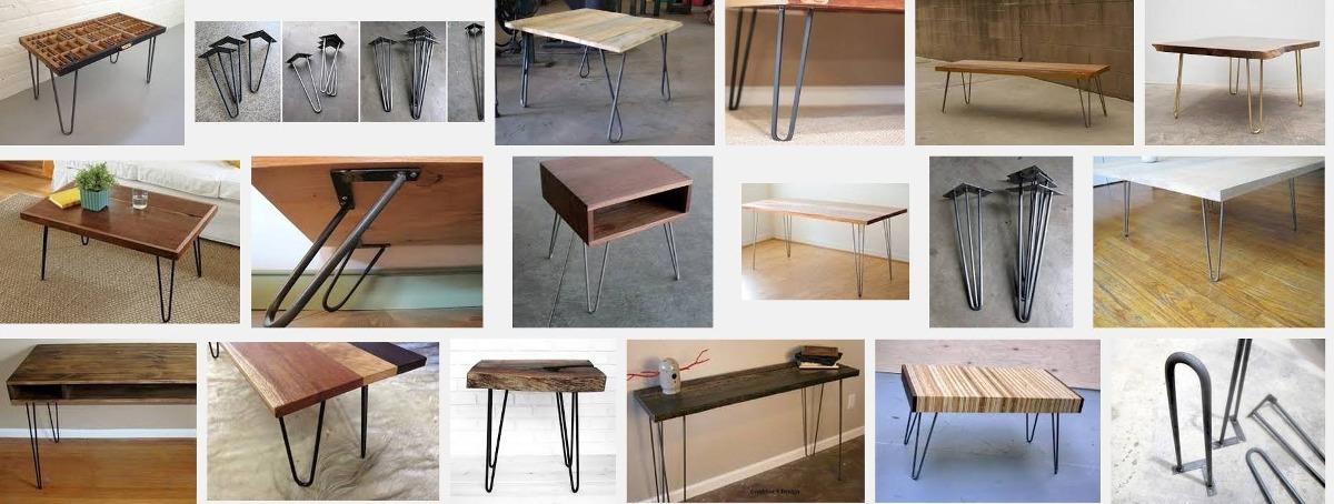 Mesa de hierro patas de hierro para mesas y bancos - Patas para mesas ...