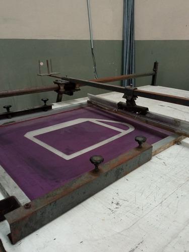 mesa de impressão para serigrafia