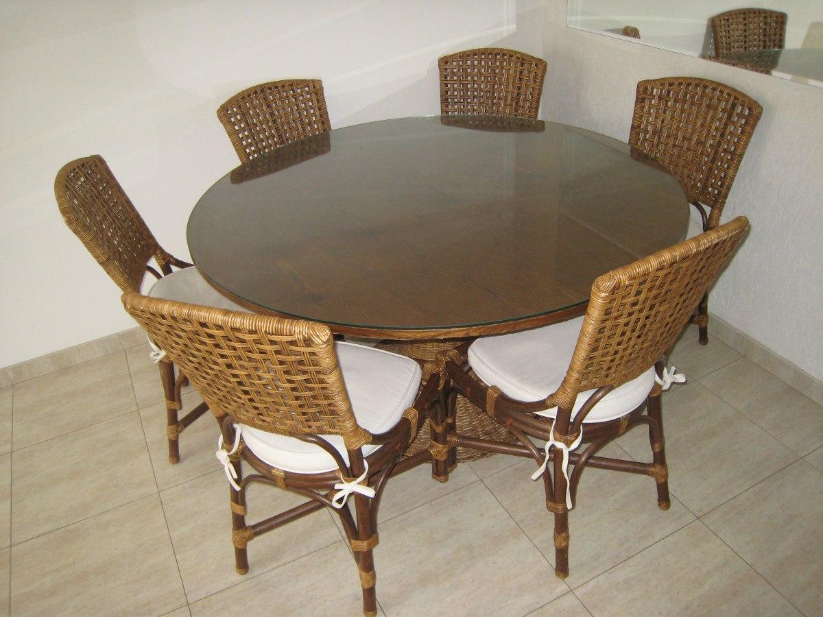 Artesanato Em Feltro ~ Mesa De Jantar C 6 Cadeiras + Aparador Armando Cerello R$ 9 500,00 em Mercado Livre