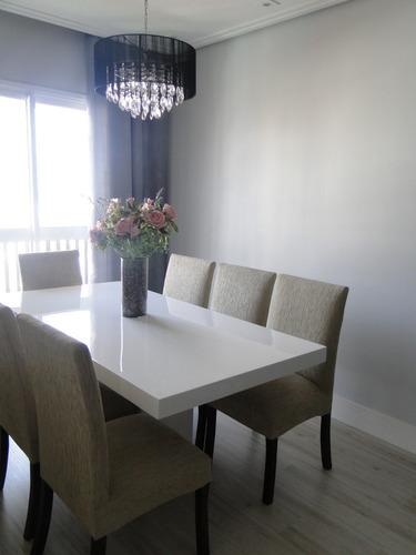 mesa de jantar de resina branca verona med 1.60 x 0.80