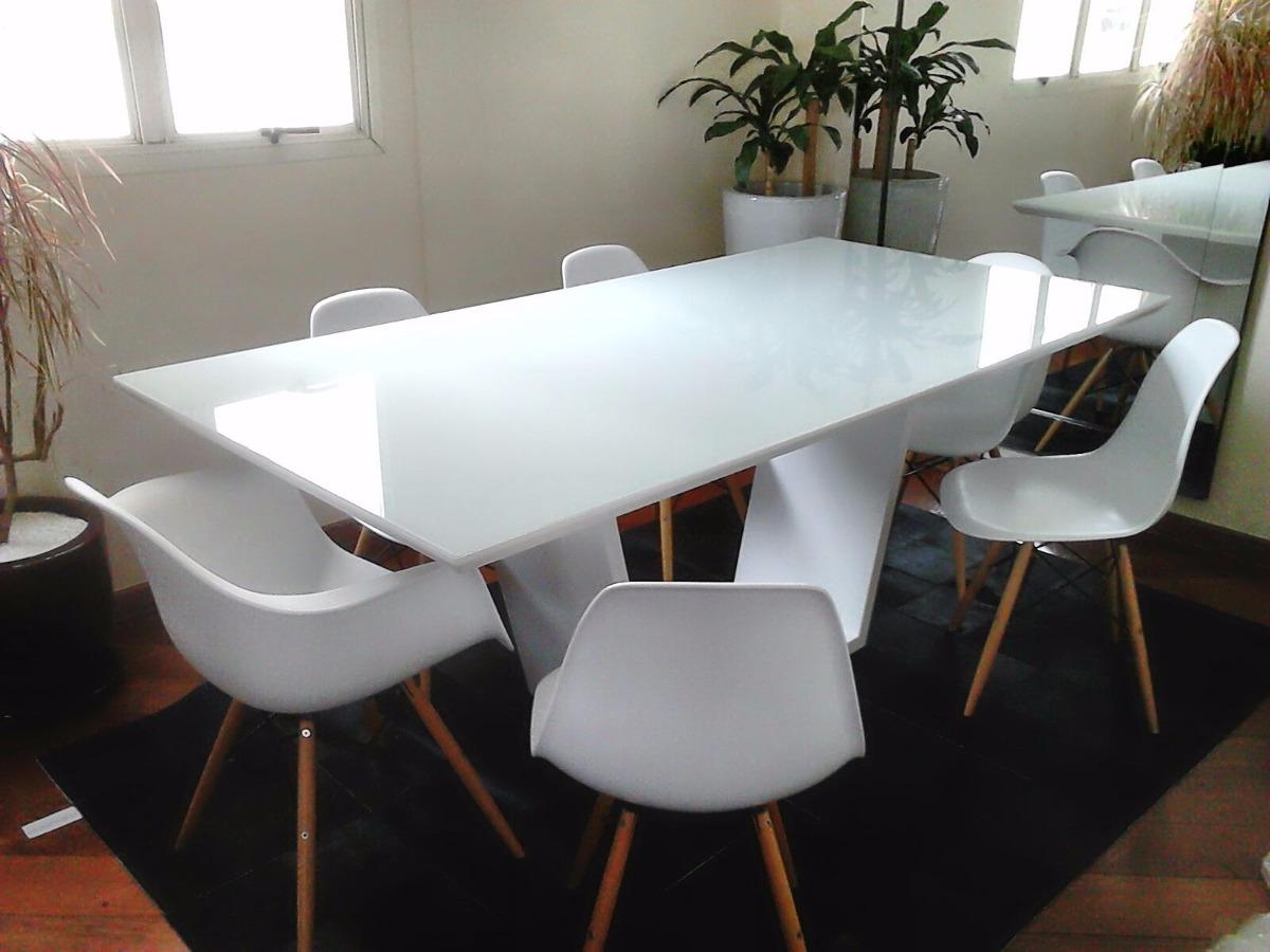 Mesa De Jantar Elegance Com Vidro 4mm 2,20 X 1,10 R$ 2 790,00 em Mercado Livre