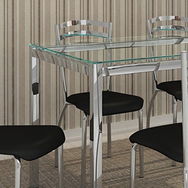Mesa De Jantar Em Aço Inox R 79000 Em Mercado Livre