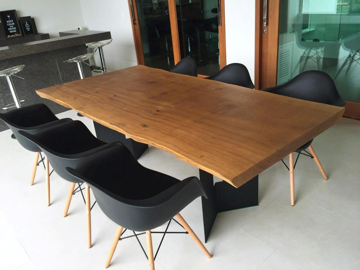 Mesa de jantar maci a r stica design moderno pe for Mesas de billar modernas