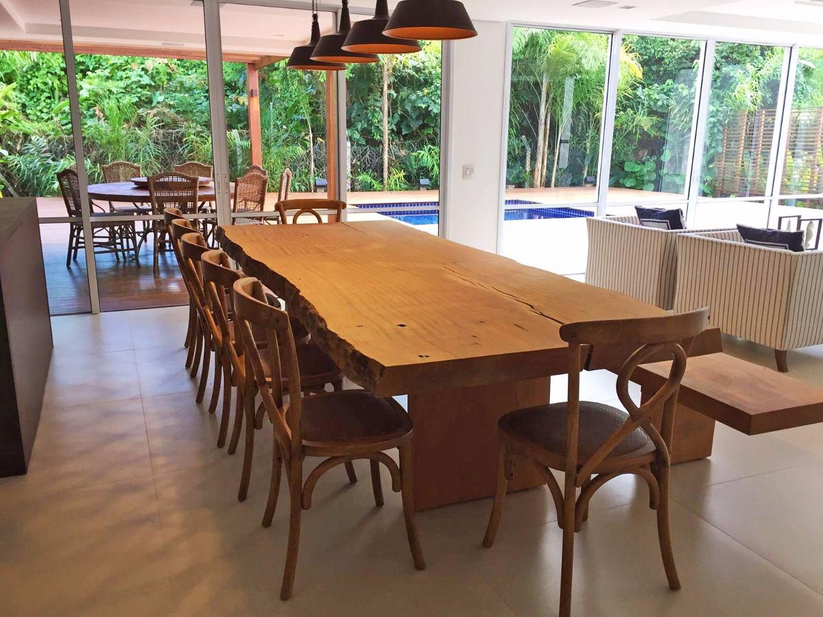 Mesa de jantar madeira maci a prancha tronco tora for Mesa de tronco
