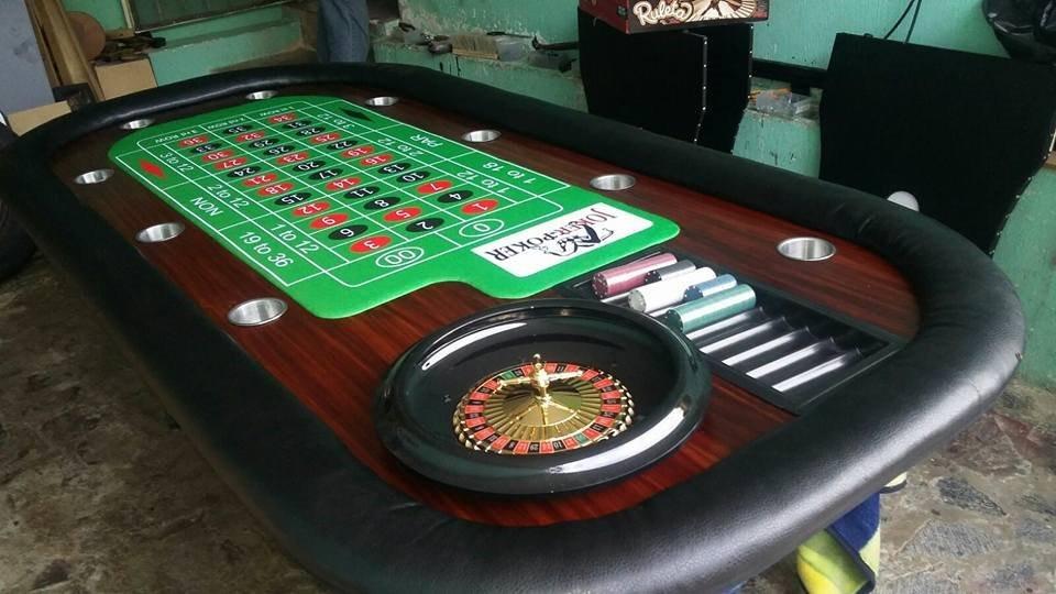 Mesa De Juego Ruleta Casino Activaciones Profesionales