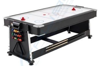 mesa de juegos 4 en 1 billar,hockey ping pong y comedor