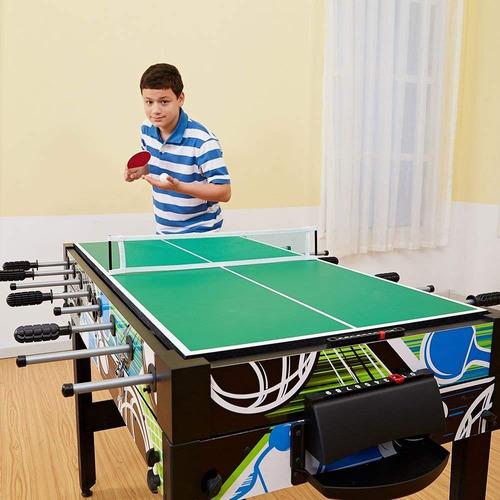 mesa de juegos multiples ping pong ajedrez basket dama arco
