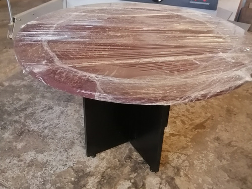 mesa de juntas de 1.20 de diametro