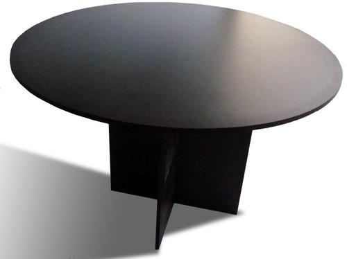 mesa de juntas redonda 1.20x1.20 colores a escoger