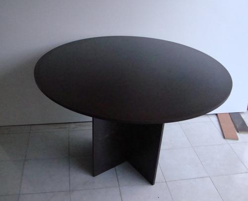 mesa de juntas redonda 1.20x1.20 colores a escoger baratisim