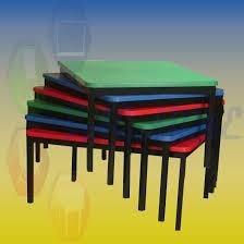 mesa de kinder rectangular