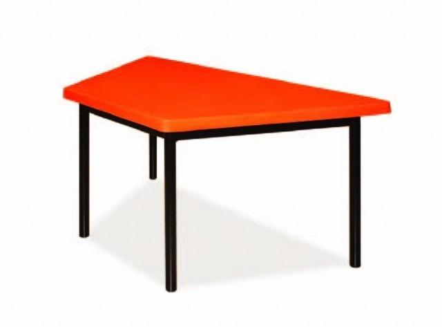 mesa de kinder trapezoidal en mercado libre