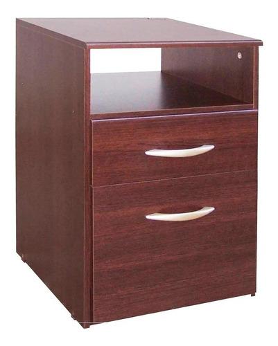 mesa de luz 962 platinum 1 cajón y puerta kromo-s envios