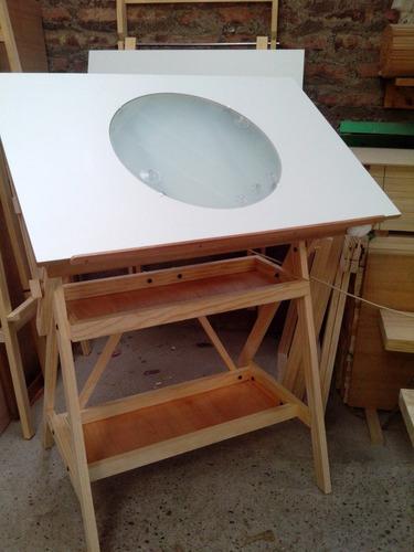 mesa de luz de animacion o ilustracion