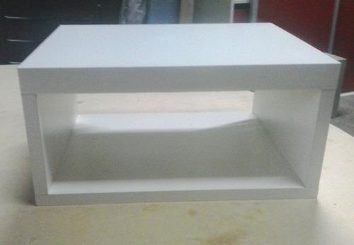 mesa de luz flotante suspendida modernas