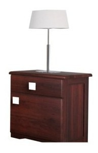 mesa de luz inmacol 205 pacifico madera maciza
