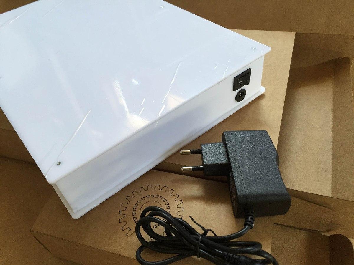 Mesa de luz led para desenho a3 r 265 00 em mercado livre for Mesa de luz para dibujo