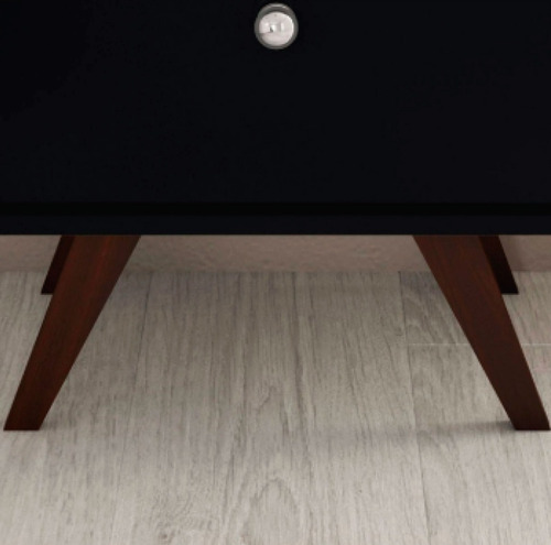 mesa de luz linea retro living dormitorio 1 cajon bl rt3019