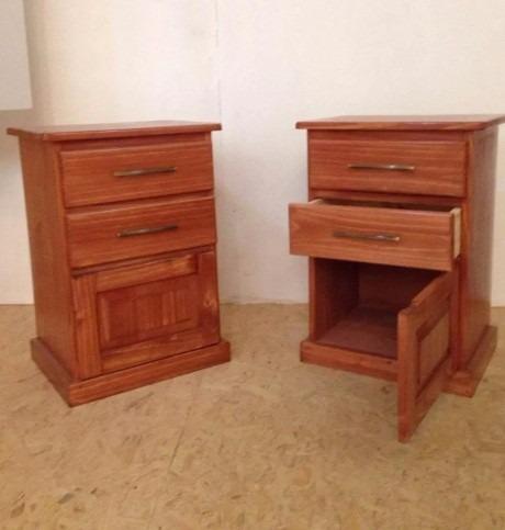 Mesa de luz madera pino somos fabricantes plakards - Mesa madera pino ...