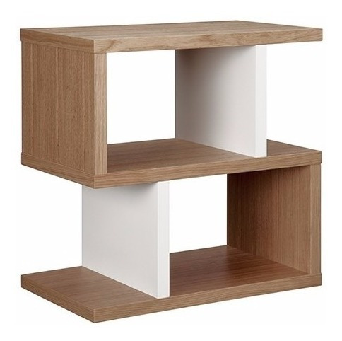 mesa de luz - modelo s - mesa auxiliar - green muebles