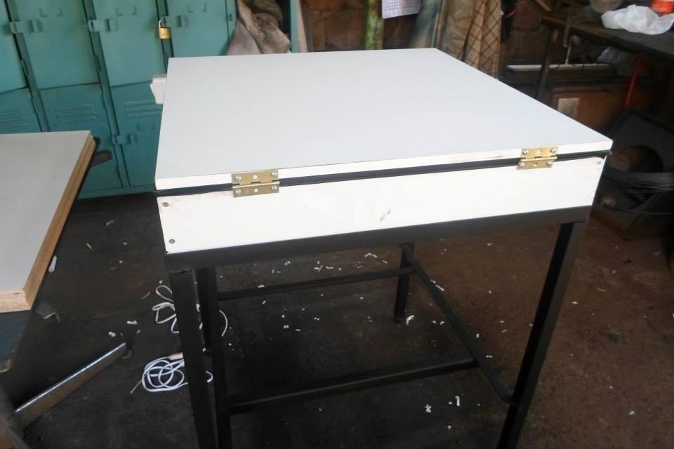 Mesa de luz para serigrafia en mercado libre for Mesa de luz para dibujo