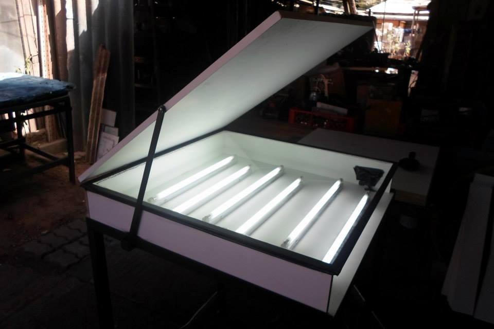 Mesa De Luz Para Serigrafia 300 000 En Mercado Libre