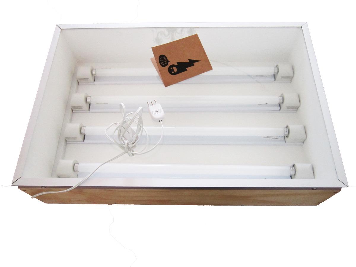 Mesa de luz para serigraf a y dibujo articulo nuevo for Mesa de dibujo con luz