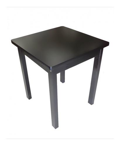 mesa de madeira bar e restaurante 70x70 - sp pronta entrega
