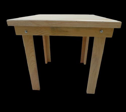 mesa de madera 4 personas uso rudo para comedor
