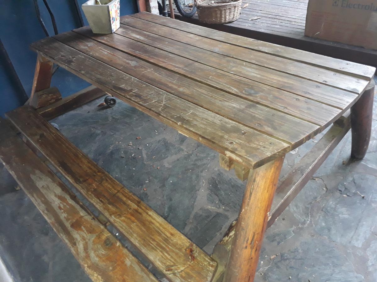 Lujoso banco madera exterior vi eta ideas de decoraci n for Bancos para exterior