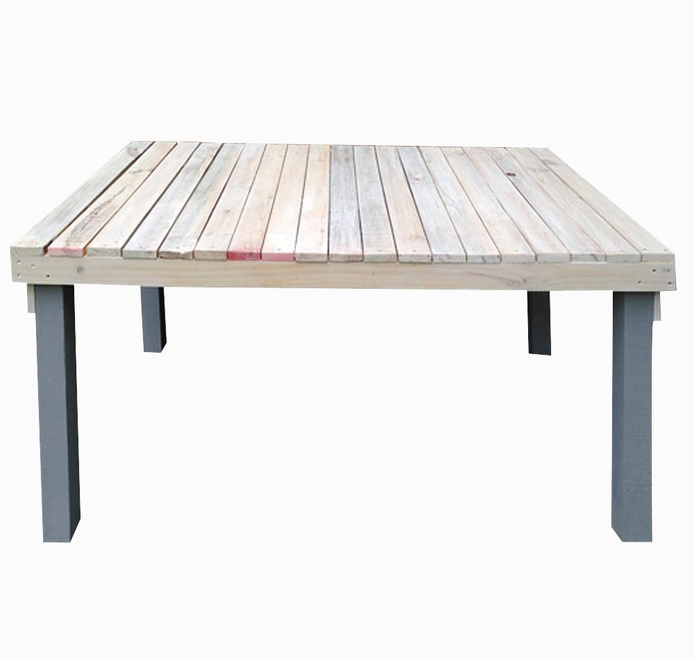 Mesa de madera de colores vintage 8 en mercado for Mesa vintage madera